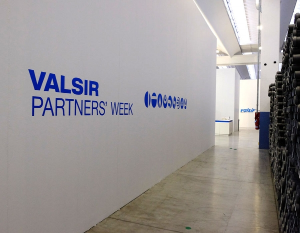 Valsir Partners' week