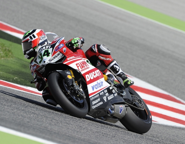 The results of the World SBK Championship - Misano round
